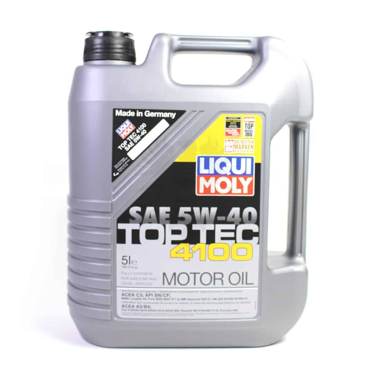 Engine Oil Liqui Moly 5w 40 5l Cascade